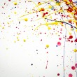 Stock Photo: Abstract colorful Splash watercolor background