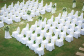 Ceremonia de boda en un hermoso jardín — Foto de Stock
