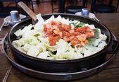 Chicken vegetable stir-fry — Stock Photo