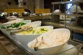Salad buffet — Stock Photo