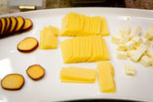 Tranches de fromage — Photo