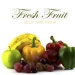 Fresh various fruits. — Stock Photo