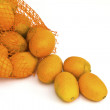 Kumquat orange isolated on a white background — Foto de Stock