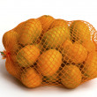 Kumquat orange isolated on a white background — Stock Photo