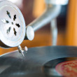Old record player — Stock Photo