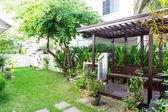 Jardin de la maison verte — Photo