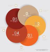 Modern design layout modern formgivningsmall, vektor illustrati — Stockvektor