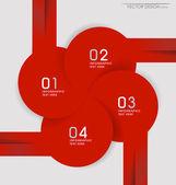 Plantilla de diseño moderno diseño moderno diseño, vector illustrati — Vector de stock