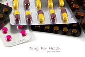Packaging of medicines. (Tablets & Pills) — Stock Photo