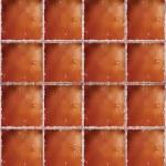 Brown ceramic floor. Vector illustration. Brown ceramic wall sea — Stock Vector #28022743