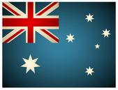 Vintage Australia Flag. Vector illustration. — Stock Vector