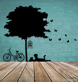 Vector Decorative Wall Stickers For Your House's Interiors. (eas — 图库矢量图片