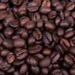Brown coffee beans background texture, — Stock Photo