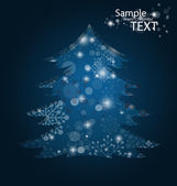 Christmas background, vector illustration. — Stock Vector