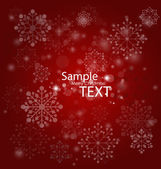 Christmas background, vector illustration. — Stock Vector