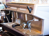 Coffee machine — Stock Photo