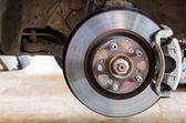 Car brakes system  — Stock Photo