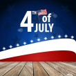 4th of July, Happy independence day United States of America. Ve — 图库矢量图片 #47842691