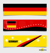 Germany, Flags concept design. Vector illustration. — Stock Vector