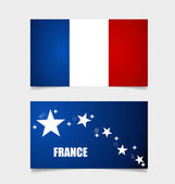 France, Flags concept design. Vector illustration. — Stock Vector