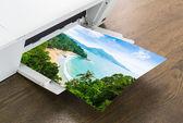 Drukarki papier wyspy tropikalne — Zdjęcie stockowe