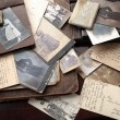 Old photos, postcards and letters. — Stock Photo #36937413