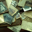 Old photos and letters. — Stock Photo