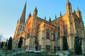 Wakefield Cathedral. — Stock Photo