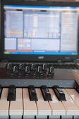 Keyboard controller. — Stock Photo