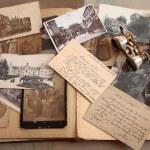 Old photos,postcards and corresponence. — Stock Photo #7173485