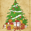 Kerstboom — Stockvector #17179605