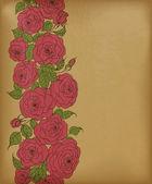 Roses rouges — Vecteur