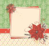 Christmas scrapbook — Stock Vector