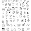 Doodle icons — Stock Vector #27847967