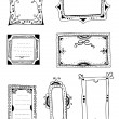 Wektor stockowy : Decorative frames