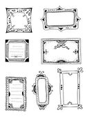 Decorative frames — Vettoriale Stock