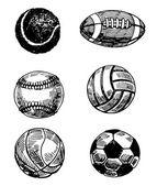 Balls — Vector de stock