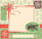 Jul klippbok — Stockvektor
