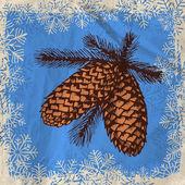 Pineconer — ストックベクタ