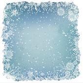 зимний фон — Cтоковый вектор