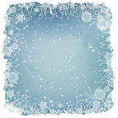 Winter achtergrond — Stockvector