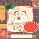 Christmas scrapbook — Stock Vector #33109927