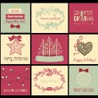 Christmas cards — Stockvektor #33563921