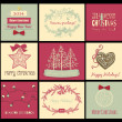 Christmas cards — Stock vektor #33563921