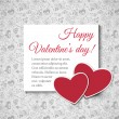 Valentine day background — Vettoriali Stock
