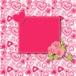 Valentines day card — Stock vektor #36160229