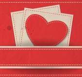 バレンタインの日カード — ストックベクタ
