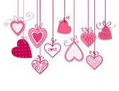Herzen — Stockvektor