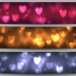 Valentine day banners — Stock Vector #38605505