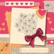Valentine day card — Stock Vector #39166717